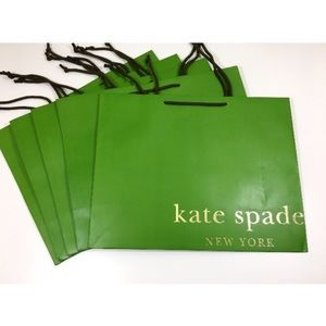 One set left!  Kate Spade | Set of 5 Shopping Bags